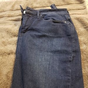 Levi's Jean Skirt Size 16